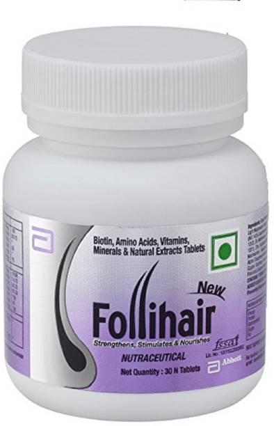 ABBOTT New Follihair Biotin , Amino Acids, Vitamins