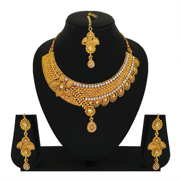 078999921 Gold Touch Jewellery Sets - Buy Gold Touch Jewellery Sets Online at ...
