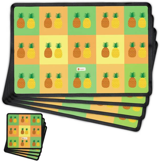 indigifts rectangular pack of 4 table placemat