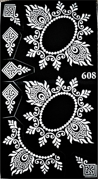 photo relating to Printable Henna Stencils identified as Henna Stencils - Invest in Henna Stencils on line at Least complicated Rates inside of