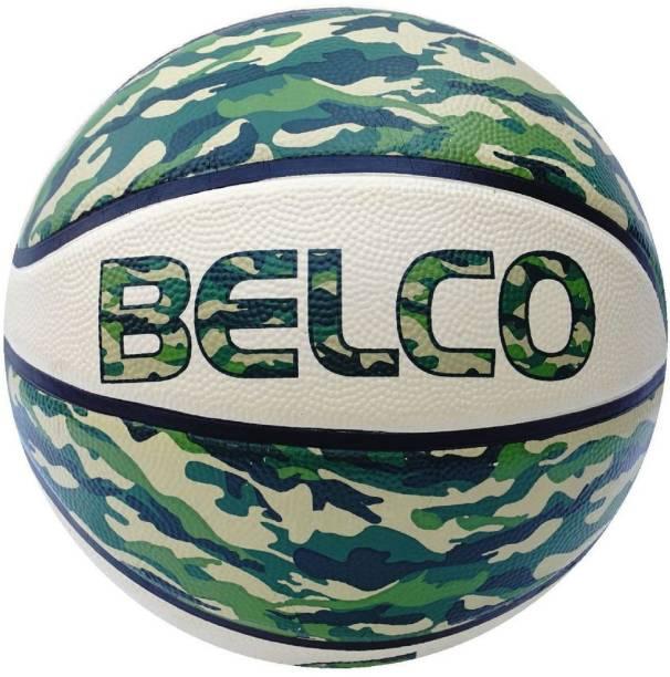 BELCO New Street Basketball Size 7 Green Basketball - Size: 7