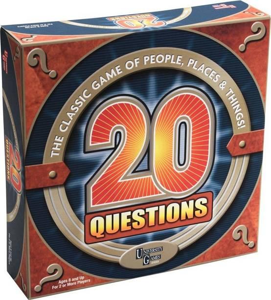 FUNSKOOL Games - Domestic 20 QUESTIONS(UNI GAMES)
