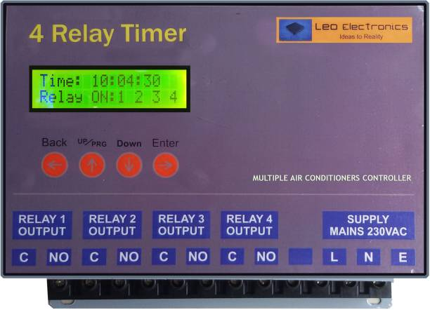 Leo 4 channel timer Programmable Electronic Timer Switch