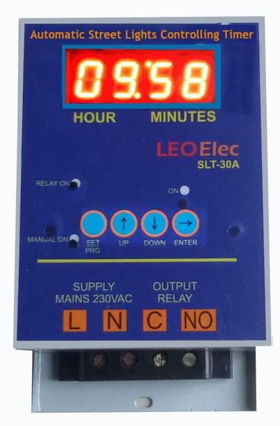 Leo Street light timer Programmable Electronic Timer Switch