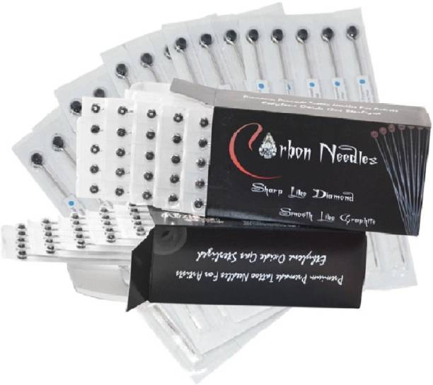 Carbon Needles 3RS, 5RL, 7M1 Disposable Round Shader, Round Liner, Magnum Tattoo Needles