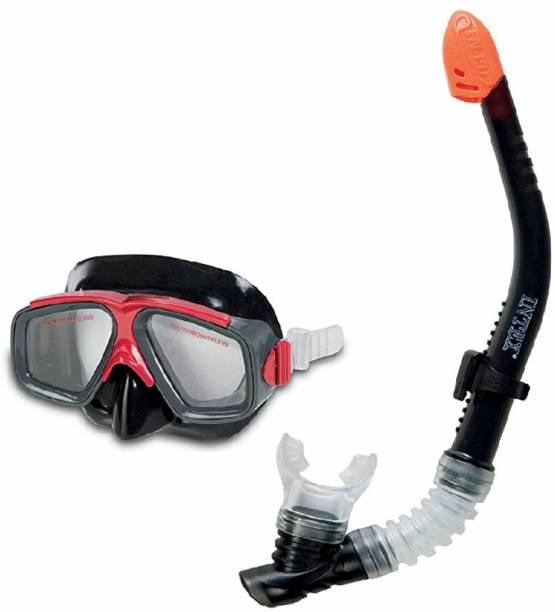 Dhawani Sports Adult Combo Mask & Snorkle Set Swimming Kit Swimming Kit