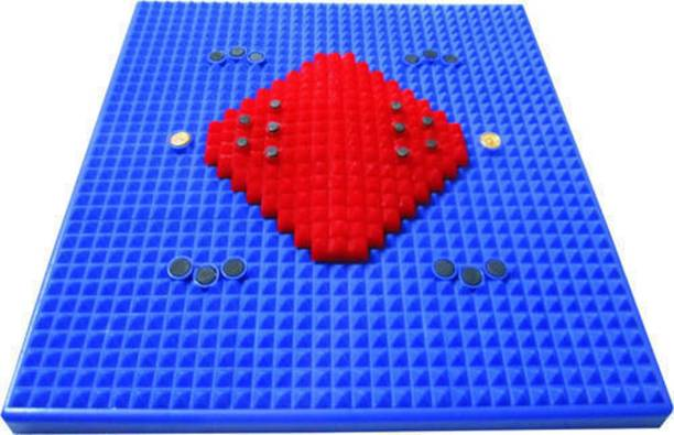 Healthylife Acupressure fitness yoga New Power Mat With Magnets And Copper For Stress And Pain relief Massager home gym Multicolor 1 mm Accupressure Mat