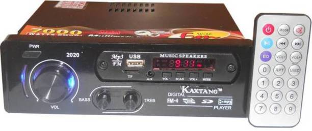 KAXTANG 2020 Full Black MP3/USB/AUX Car Media Player Car Stereo Car Stereo (Single Din) Car Stereo