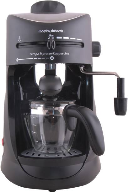 Morphy Richards Europa Espresso / Cappuccino 4 Cups Coffee Maker