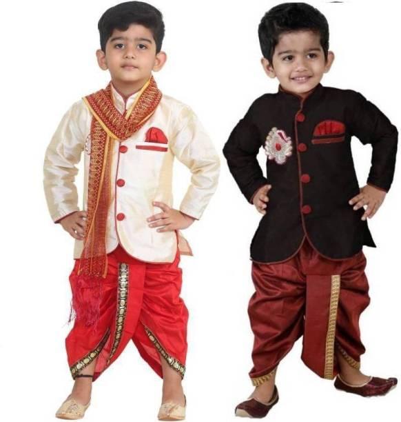 b15d9a116 Kurta Dhoti Pant Dupatta Set Boys Wear - Buy Kurta Dhoti Pant ...