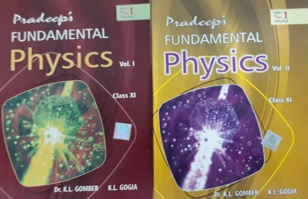 PRADEEP'S FUNDAMENTAL PHYSICS CLASS-XI VOLUME 1 & 2