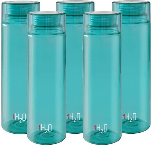Cello present H2O PET 1000 ml BPA free, Leak Proof, Break proof, Crystal