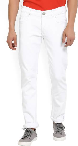 9d7946d18b White Jeans - Buy White Jeans Online at Best Prices In India ...