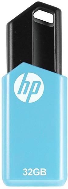 HP V150W 32 GB Pen Drive USB 2.0 Flash Drive (Blue) 32 GB Pen Drive