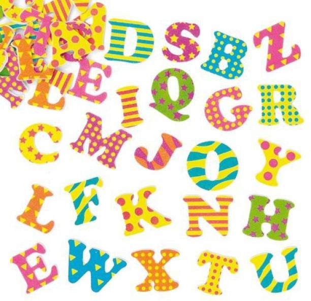 651450776c4 Baker Ross Funky Foam Self-Adhesive Letters Stickers For Children To  Personalise And Decorate Cards