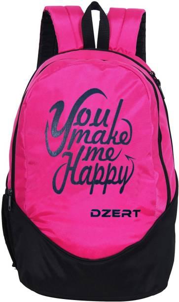 DZert school bag college style Backpack boys and girls Waterproof Waterproof Backpack
