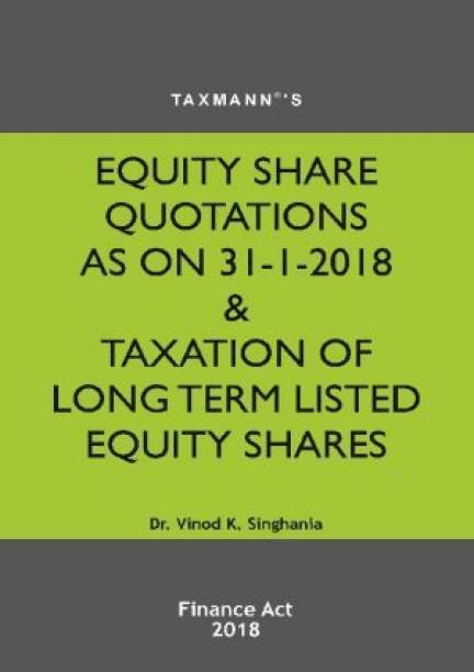 Singhania Tax Book