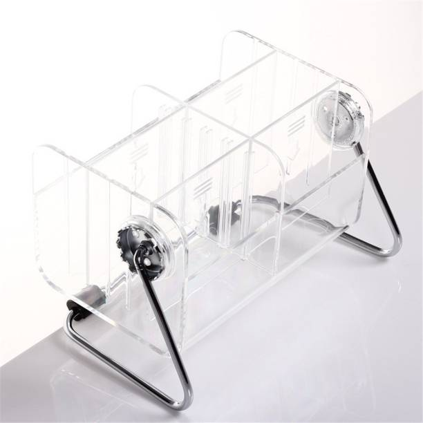 HOUSE OF QUIRK 6 Compartments Acrylic Remote Organizer