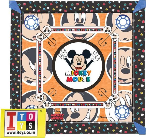 DISNEY 20*20 carrom board Board Game Accessories Board Game