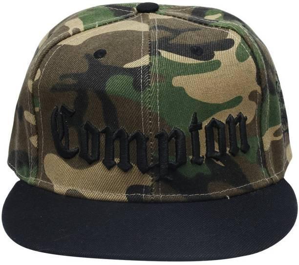 f40e608dbd4 Creative India Exports Embroidered Military Print Snapback Cap Cap