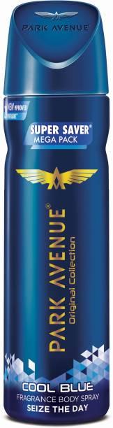 PARK AVENUE Mega Pack Cool Blue Deodorant Spray  -  For Men