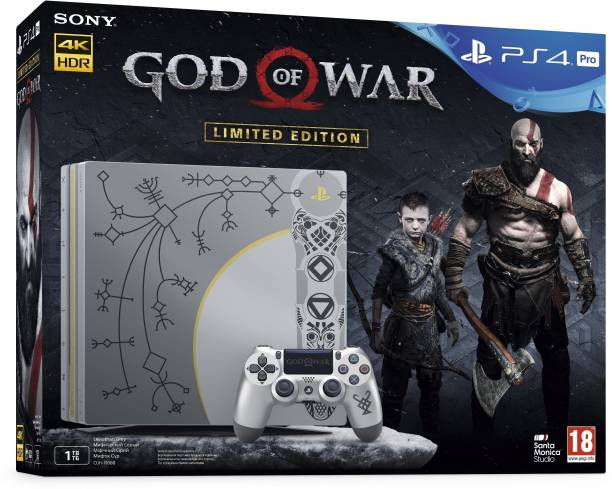 SONY PS4 Pro 1 TB with God of War