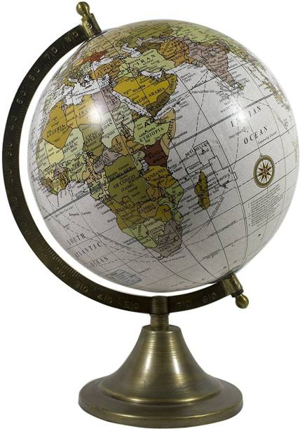 Globes buy globes online at best prices in india flipkart electrobot medium size rotating world globe for table bookshelf shelf wall ledge gumiabroncs Gallery
