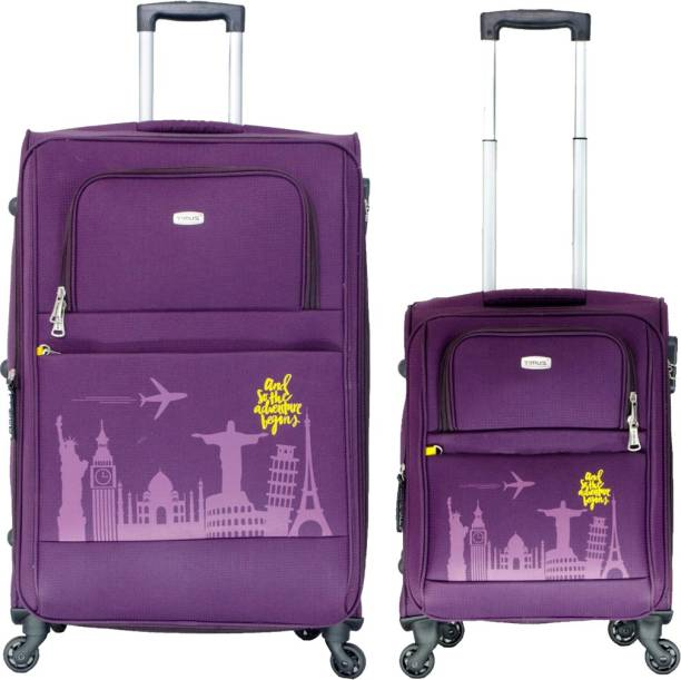 0f635c715 Timus Salsa 55 & 65cm wine trolley suitcase for travel Expandable Check-in  Luggage -