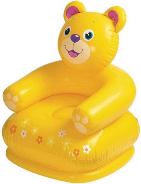 A R ENTERPRISES Kids Happy Teddy Air Chair/Sofa for Kids Bouncer