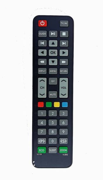 Technology Ahead TA VIDEOCON LCD/LED TV REMOTE VIDEOCON GENIUNE LCD/LED TV REMOTE Remote Controller