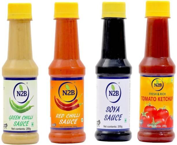 N2B SAUCE & KETCHUP PACK OF 4 Sauce