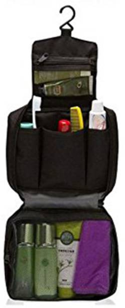 75327ecf92 House of Quirk Cosmetic Makeup Pouch With Multi Pockets Hook Toiletry Bag