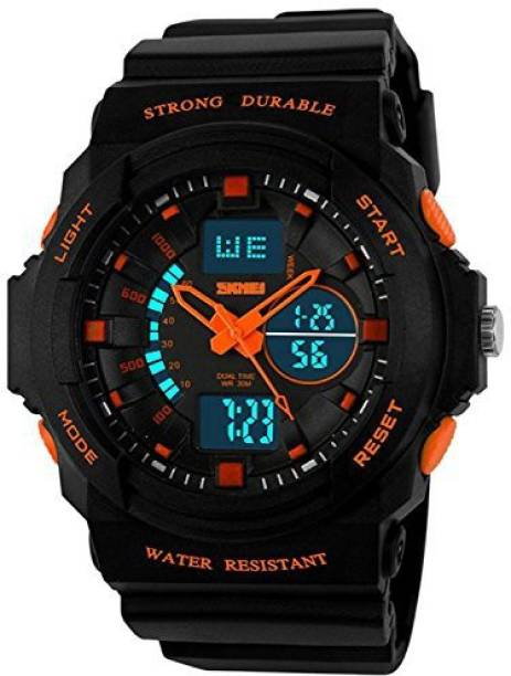 8c16345d9 Fanmis Black3123 Fanmis Men's Womens Multi-function Cool S-shock Sports  Watch LED Analog