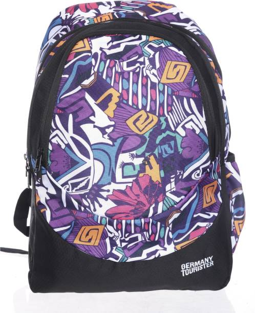 Germany Tourister Gt04 Black Purplemulticolor 30 L Backpack