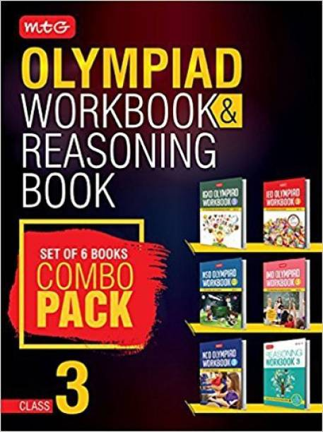 Class 3: Work Book & Reasoning Book Combo for NSO-IMO-IEO-NCO-IGKO (2018-19)