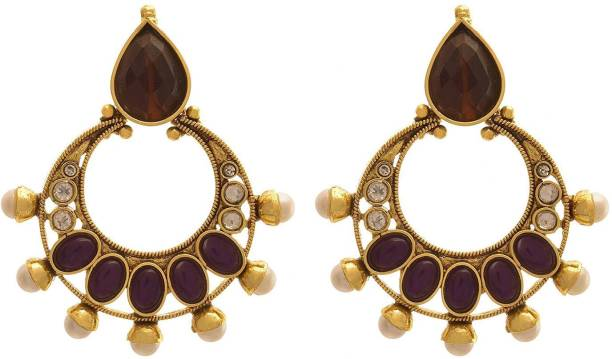 a712d28609 JFL-Jewellery For Less JFL - Jewellery for Less Traditional Ethnic One Gram  Gold Plated