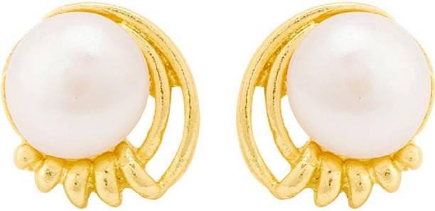 571d27742 Pearl Stud Earrings - Buy Pearl Stud Earrings online at Best Prices ...