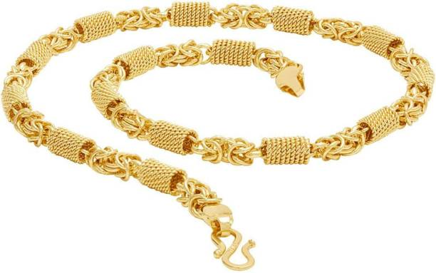 257bd70eed456 Gold Plated Chain - Buy Gold Plated Chain online at Best Prices in ...