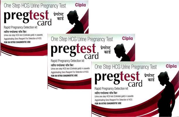 Cipla Pregtest Pregnancy detection Kit Pregnancy Test Kit