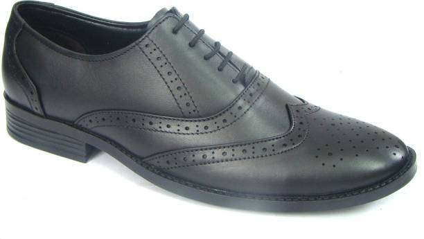 9ffa26fced57 ASM Men s Pure Leather Punch Brouge Shoes Lace Up For Men