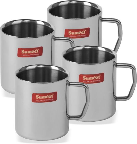 Sumeet MUGMED4 Stainless Steel Mug