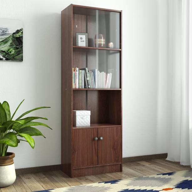 Hometown Crony Lara Engineered Wood Semi-Open Book Shelf