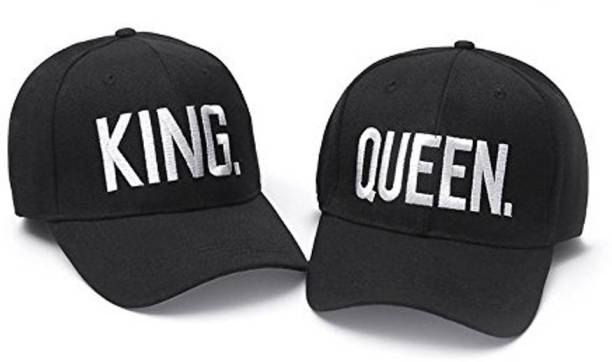 a9936e5d0fc DALUCI King Queen Baseball Caps Adjustable Couple Hip Hop Cap For Men Women  Cap