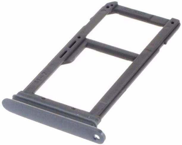 A-ONE RETAIL Dual Nano SIM Tray SD Card Holder for GALAXY S7 edge SM-G935(Grey) Sim Adapter