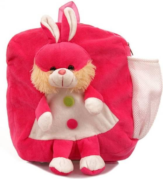 VK TEDDY BEAR Very Beautiful Doll School Bag Soft Fabric For Baby (35 cm) d687ab71a2334