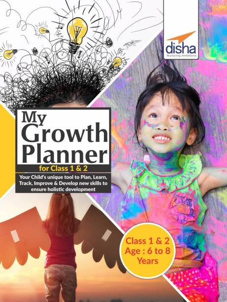My Growth Planner for Class 1 - 2 - Plan, Learn, Track, Improve & Develop Life Skills