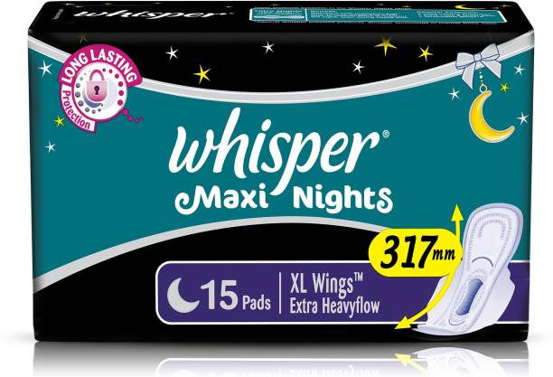 Whisper Maxi Nights XL Wings Sanitary Pad