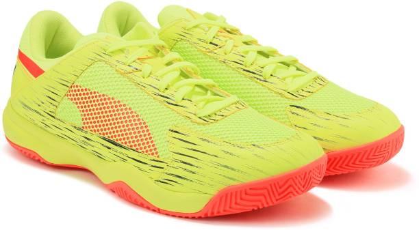 newest 471e6 34259 Puma evoSPEED Indoor NF EURO 5 Football Shoes For Men