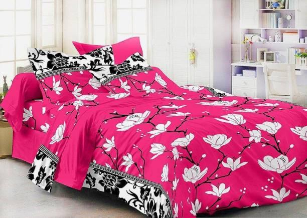 SPARKELS 144 TC Cotton Double Printed Bedsheet