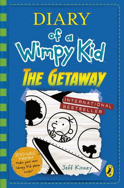 Jeff kinney books buy jeff kinney books online at best prices in diary of a wimpy kid the getaway solutioingenieria Image collections